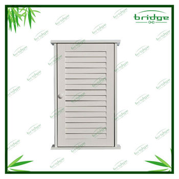 Wall hanging bathroom wall cabinet with single door