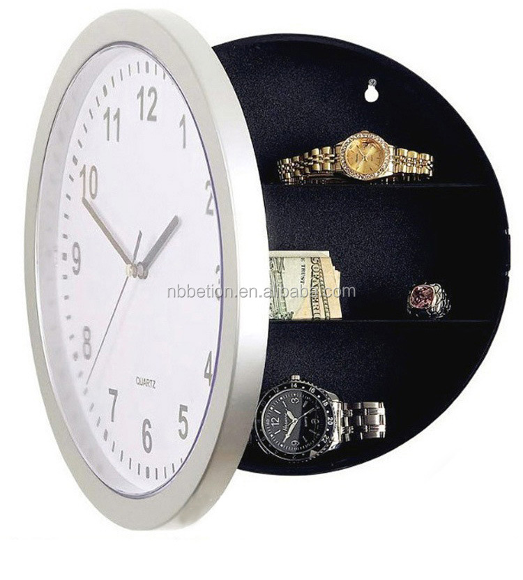 wall safe clock wall clock gift safe clock