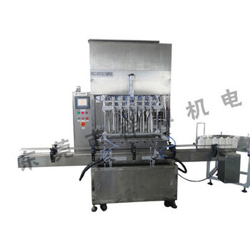 Full Auto non carbonated liquid drinks filling machine