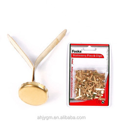 Hotsale Good Quality Golden Paper Fasteners