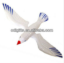 Cheap PVC funny inflatable seagull toys animal pattern