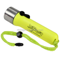waterproof AA battery good quality torch T6 diving powerful led flashlight