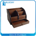 Durable Custom hot sale useful office wooden pen holder