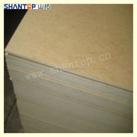 1830*3660mm E2 MDF fiber board with best quality