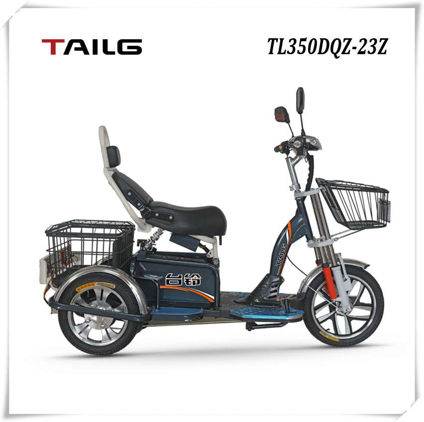 3 Wheels TAILG cargo electric vehicle with high carrying