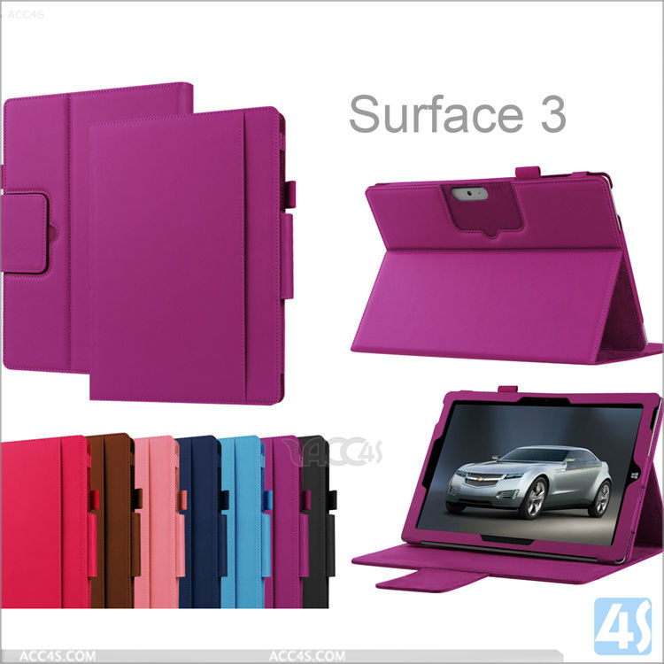 For Microsoft Surface 3 10.8 case cover, for surface 3 tablet leather case