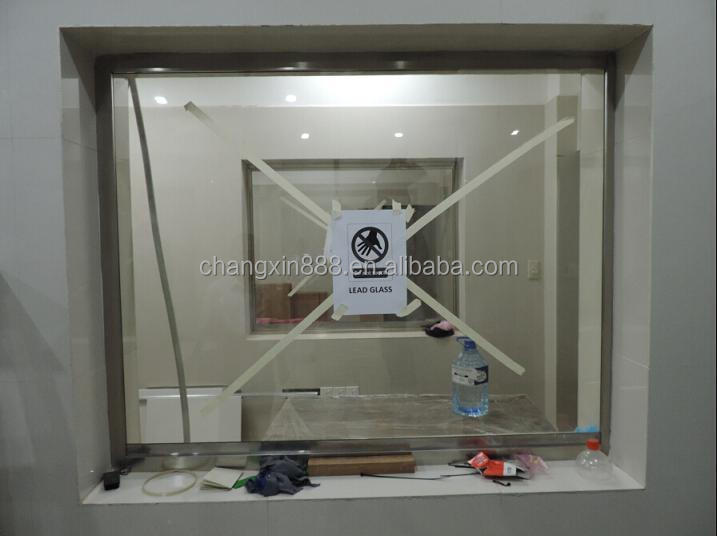 2mmpb x ray shielding screen leaded glass for medical use