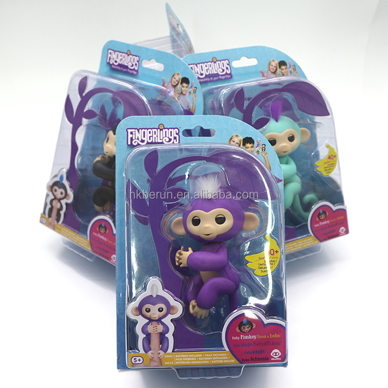 2018 Trending Toys Fingerlings Interactive Baby Monkey Toy for Christmas gift