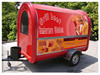 Fast food mobile kitchen trailer taco stand car wash equipment, caravane mobiles van for street