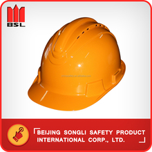 China hot selling top quality low price SLH-A-6 ABS construction industrial worker safety helmet working hard hat