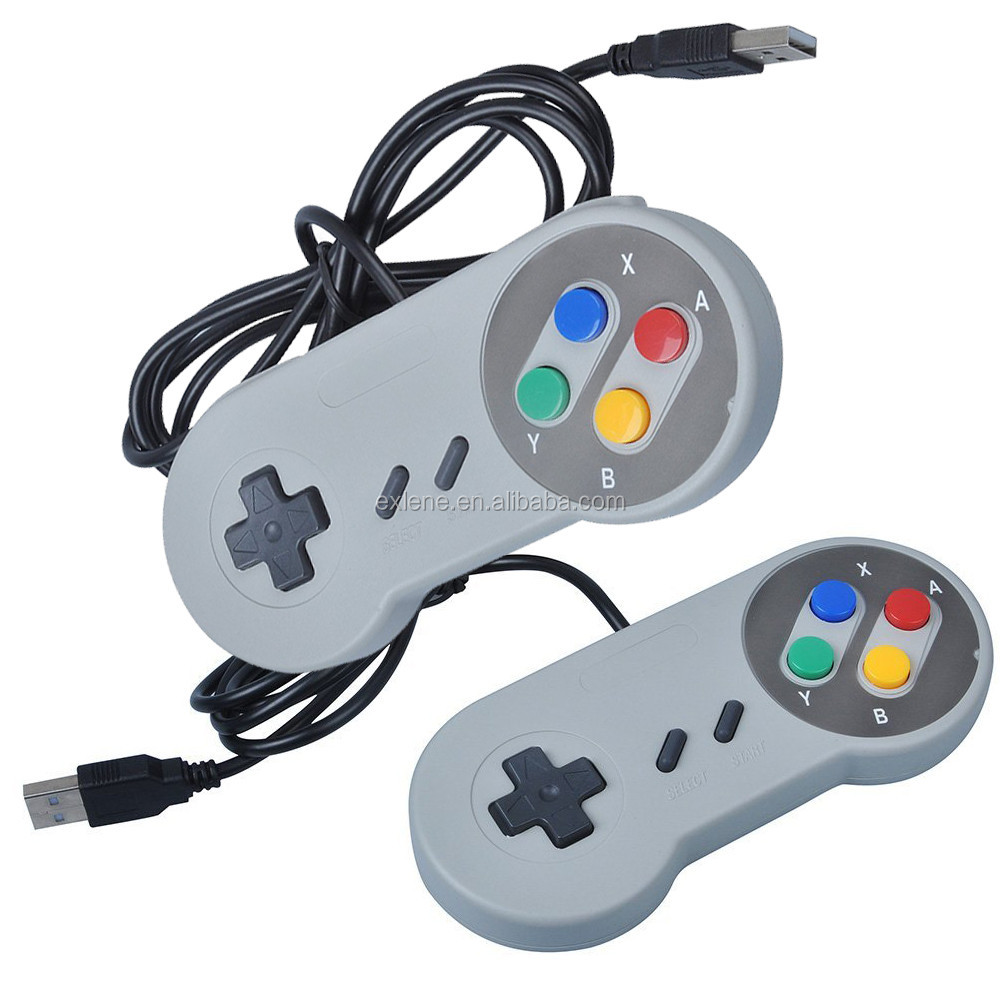 Hot sale handheld control snes usb <strong>controller</strong> Gamepad For Nintendo For SNES for Windows PC for MAC <strong>Controllers</strong>