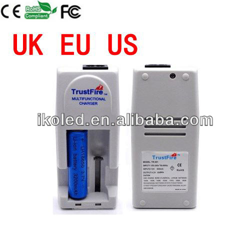 Trustfire 18350 Battery Charger for 18650 18500 18350 17670 14500,10440 Battery