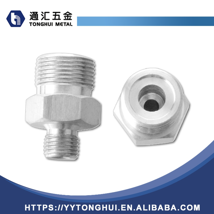 stainless steel pipe fitting gas nipple connector long hex nipple