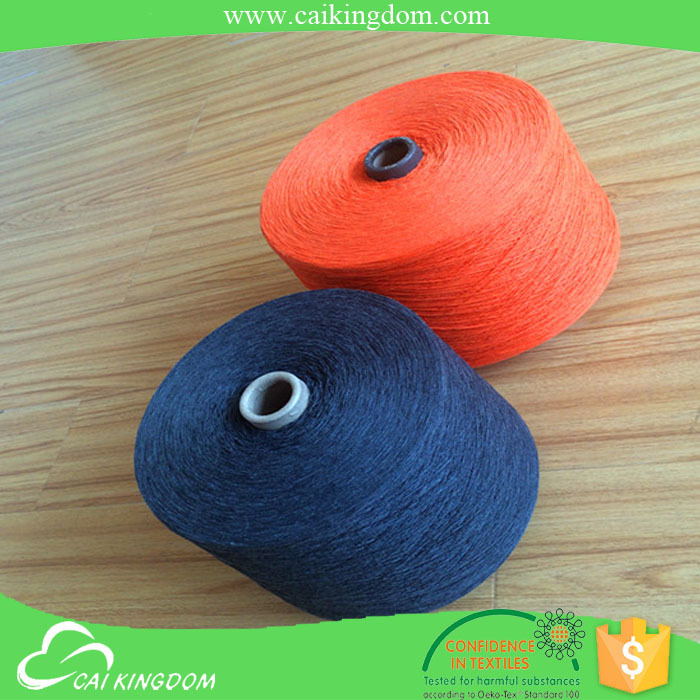 Reliable partner hand knitting yarn for carpet regenerated oe waste cotton yarn for islamic clothing