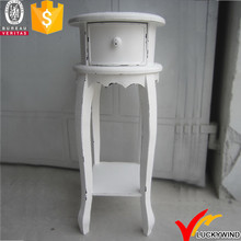 White Vintage Wood Arranging Wedding Decoration Flower Stand