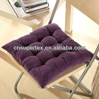 Contemporary corduroy Office Chair Seat Cushion