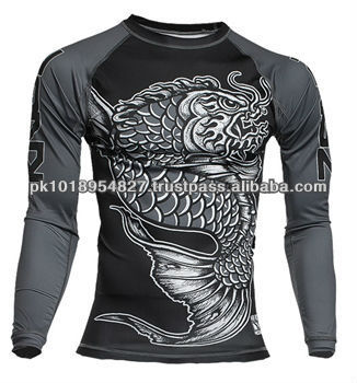 Rash Guard Sublimated available in custom designs