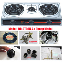 Cheap model 3 burner S/S table gas stove (RD-GT005-4)
