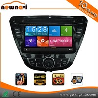 8'' phone link pioneer car dvd player with bluetooth function, 3G WIFI Dongle for HYUNDAI Elantra