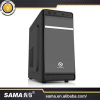 SAMA 2016 Hottest High Standard Cheap Prices Atx/Micro Atx Pc Case With Power Supply And Fans
