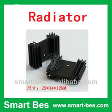 Smart Bes Custom aluminum radiator,heating radiator /cap, fan, valve supplier