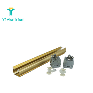 aluminium curtain track ceiling mounted curtain rails with curtain track parts