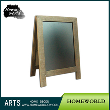 Customized Portable Framed Folding Antique Sliding Blackboard with Stand
