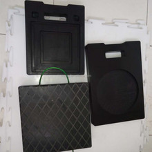 polythene sheet and uhmwpe outrigger pads and black hdpe sheet