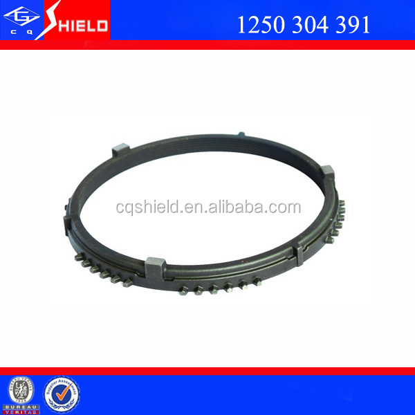 ZF auto parts assembly synchronizer parts for S6-90 transmission synchronizer ring zhongtong buses for sale 1250304391