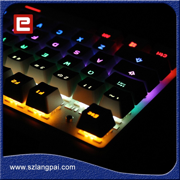 Wholesale Replaceable Key Aluminum Mechanical Gaming Keyboard