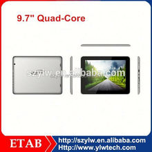 9.7 Inch quad core ips retina 2048 1536 tablet pc