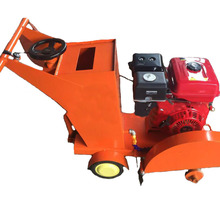 Walk behind floor road used gasoline road cutting machine