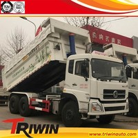 manufacturer dealer EURO 4 DFL3258A21 dongfeng brand 15m3 16m3 17m3 6x4 10 wheel garbage dump truck capacity for sale
