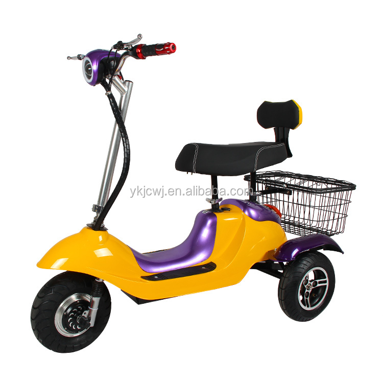 yongkang scooter three wheel electric tricycle for handicapped