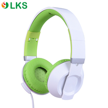 Custom logo fold stereo oem fashion compact earmuffs headphone