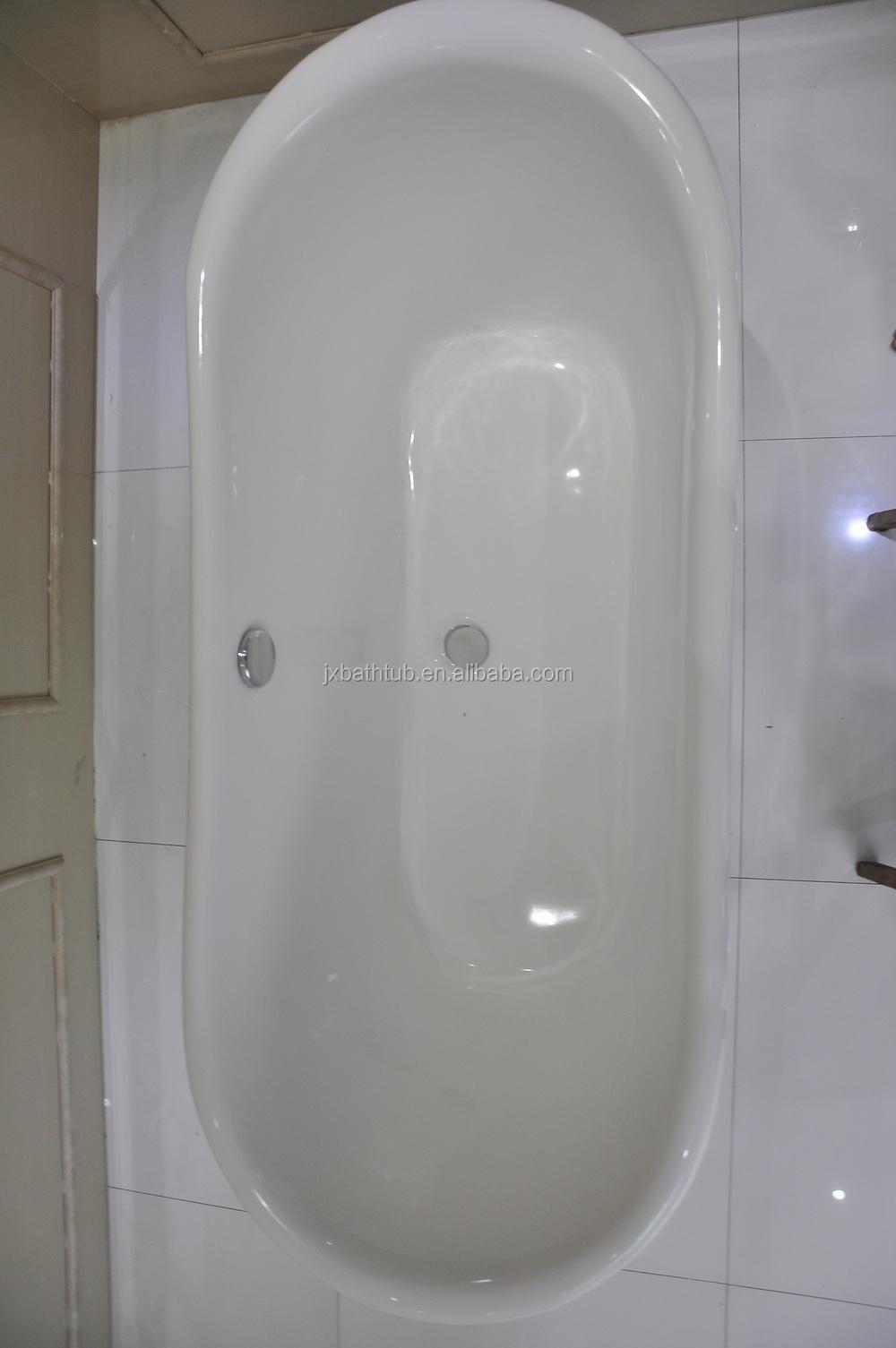 Skirted cast iron bath tub extra large bathtubs deep for Deepest bathtub available