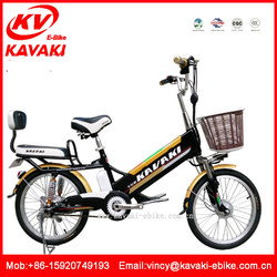 Guangzhou Kavaki Factory 48V Voltage and Brushless Motor 16inch electric bike