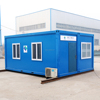 Popular Prefabricated single storey cabin prabricated container houses