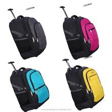 Teenager Girls /Boys Backpack Trolley Wheel Luggage School Trolley Bag