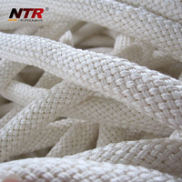 NTR Lowest price natural silk 3-strand twisted cotton rope