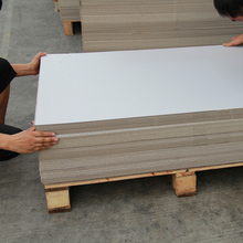 smooth stiffness 1050 gsm paper board grey paper