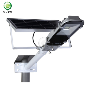 24v Microwave induction sensor 20w 24w cool white solar led street light