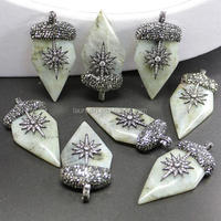 Buy Polished Freeform Natural Blue Labradorite Stone Pendant in ...