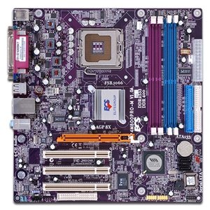 ECS Elite Group P4M800PRO-M Socket 775 Motherboard