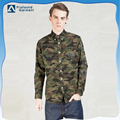 Custom 100% Cotton Digital Printing Camo Shirt/Camouflage Dress Shirts