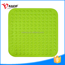 Professional design anti slip pvc bathroom shower plastic mat india