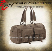 Canvas travel bag factory/Washed Canvas duffel bag