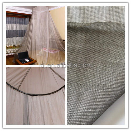 rfid fabric emf shielding transparent anti-radiation mesh for baby bed canopy/anti-mosquito net/curtain