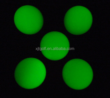 Wholesale Miniature fluorescent golf ball