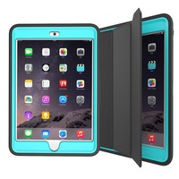 Top Quality Smart Cover for iPad Mini 3 Shockproof Tablet Case With PU Leather+TPU+PC Material